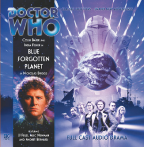 "Big Finish ""The Blue Forgotten Planet"" signed by Andree Bernard"